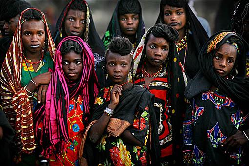 Wodaabe Gerewol In Niger